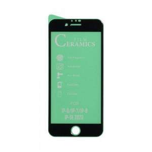 Защитное стекло Film Ceramic for Apple Iphone 6 / 7 / 8 / SE 2020 без упаковки