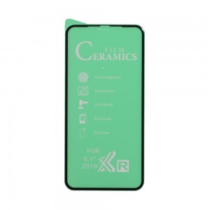 Защитное стекло Film Ceramic for Apple Iphone 11 / Xr без упаковки