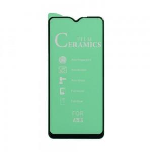 Защитное стекло Film Ceramic for Samsung A20s без упаковки