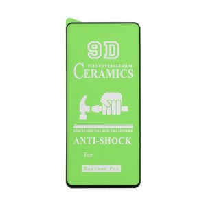 Защитное стекло Film Ceramic for Realme 6 pro без упаковки
