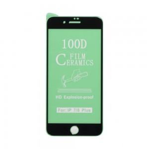 Защитное стекло Film Ceramic for Apple Iphone 7 Plus / 8 Plus без упаковки
