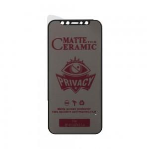 Защитное стекло Film Ceramic AntiSpy for Apple Iphone 12 Mini без упаковки