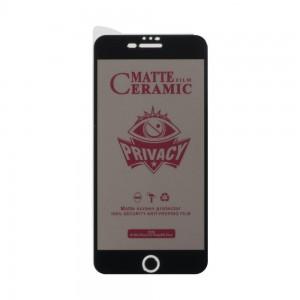 Защитное стекло Film Ceramic AntiSpy for Apple Iphone 7 Plus / 8 Plus без упаковки
