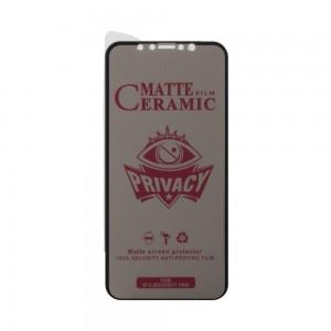 Защитное стекло Film Ceramic AntiSpy for Apple Iphone 11 Pro / X / XS без упаковки