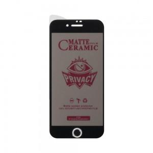 Защитное стекло Film Ceramic AntiSpy for Apple Iphone 7/8/SE 2020 без упаковки