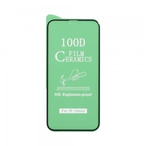 Защитное стекло Film Ceramic for Apple Iphone 12 Mini без упаковки