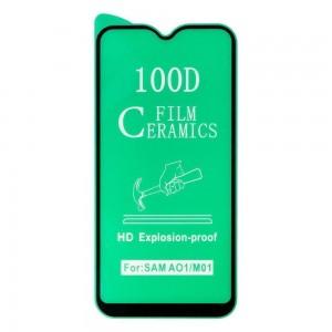 Защитное стекло Film Ceramic for Samsung A01 / M01 без упаковки
