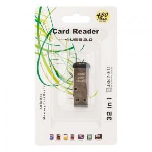 Cardreader TF Micro Metall