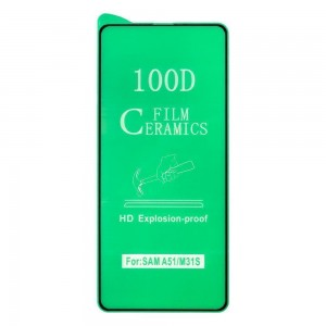 Защитное стекло Film Ceramic for Samsung A51 без упаковки