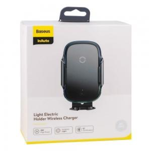Автодержатель Baseus + Wireless Charger WXHW03