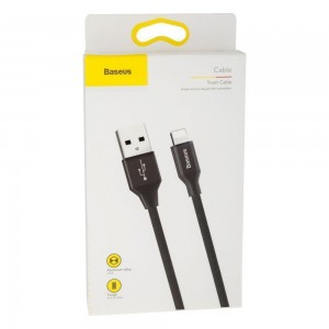 USB Baseus CALYW-B Lightning 0.6m