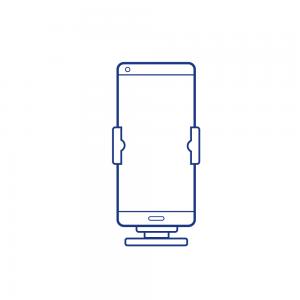 Кольцо Подставка для Телефонов Mercedes