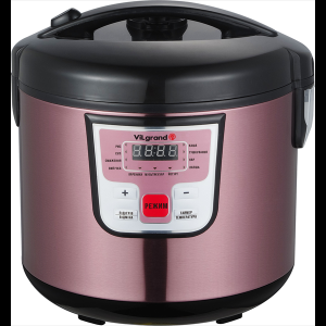 Мультиварка (5 л; 900 Вт; 11 программ; нерж.; LED-дисплей) ViLgrand VMC115_Pink