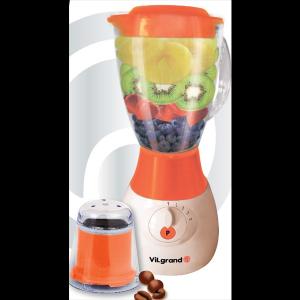 Блендер стаціонарний+кавомолка (скляна чаша на 1,5 л; 500 Вт) ViLgrand VBS5152G