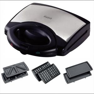 Сендвічниця-гриль MAGIO МG-370 3 в 1, 780 Вт, антипригарне покриття, вафлі, гриль, сендвічі Magio МG-370
