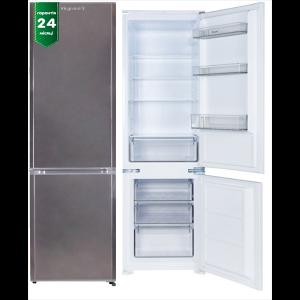 Холодильник 244 л; нерж., 181л; 63л - нижняя морозилка; 545х560х1780 ViLgrand VRF63181