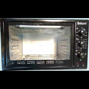 Піч електрична,42 л,гриль Saturn ST-EC3802Black