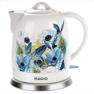 Чайник електричний MAGIO МG-973, 1,5л, 1200Вт, диск, кераміка
