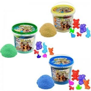 Magic sand - MIX 3 цвета.Ведро 1 кг (038-3)