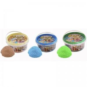 Magic sand - MIX 3 цвета.Ведро 350 г (038-1)