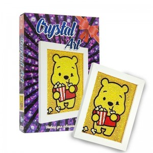 Crystal art - Медвежонок