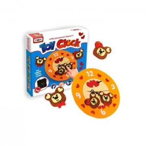 Toy clock - Ведмедики
