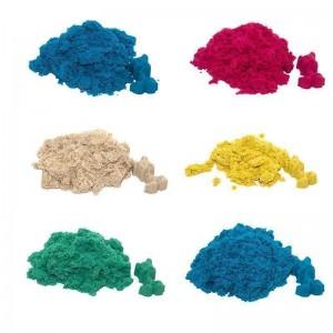 Magic sand - MIX 3 аромата + 3 светящиеся.1 кг в пакете. (39113)