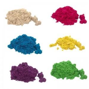 Magic sand - MIX 6 цветов, 1 кг в пакете (39200)