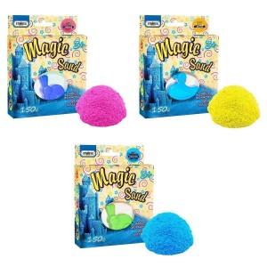 Magic sand -MIX 3 ароматы по 150 г. Формочка в наборе (39314)