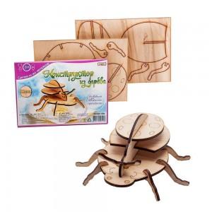 3D деревянный конструктор