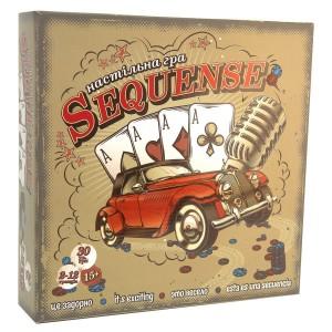 Настольная игра Sequence Сиквэнс (укр.) (30361)