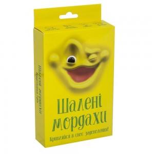 """Настольная игра """"Шаленi мордахи"""" (укр.) (30857)"""