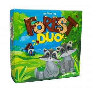 Настольная игра Strateg  (укр)  Forest Duo (30867)